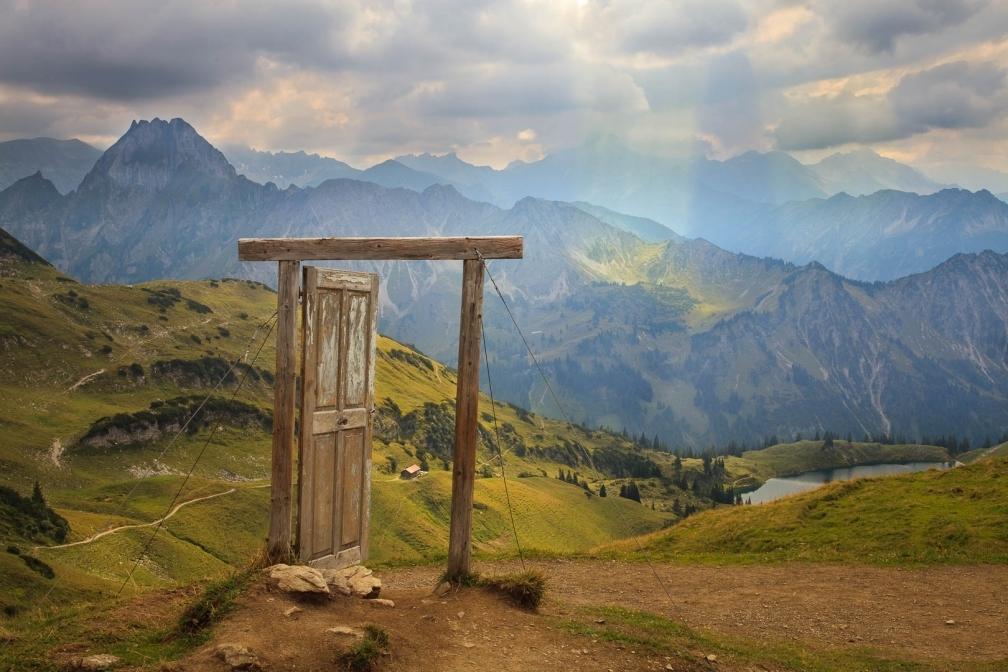 Die Tür zur Natur