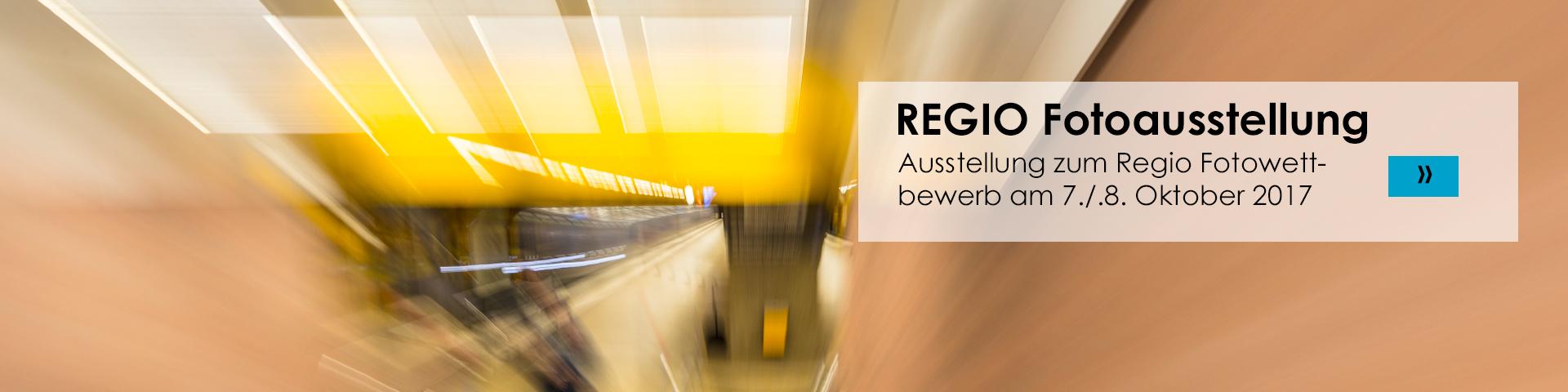 Ausstellung zum Regio 2017 Fotowettbewerb
